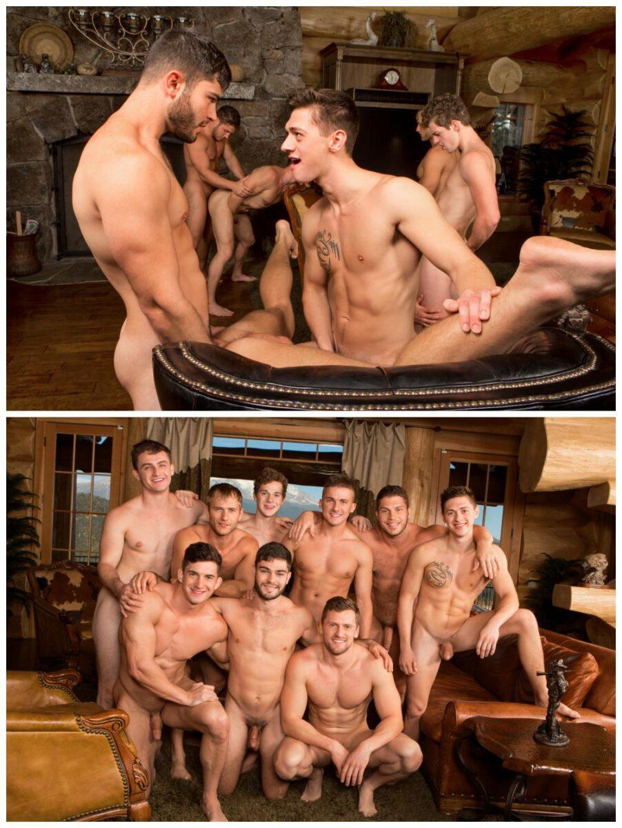 Gay orgy sean is a porn starlet that took a 4