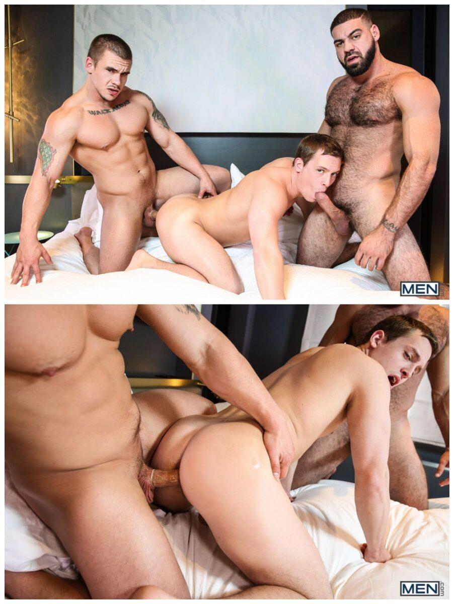 three hunks