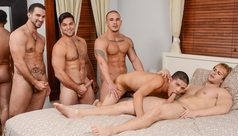 Bang gang group orgy porn sex video fine ones